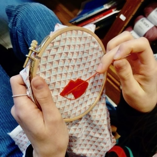 Atelier broderie